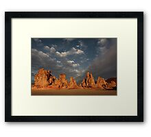 Hot Rocks Framed Print