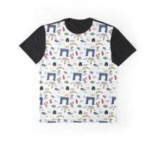 Running Doodles Graphic T-Shirt