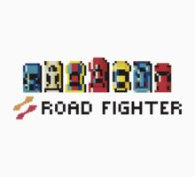 ROAD FIGHTER - 80s CLASSIC ARCADE GAME Kids Tee