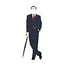 Mycroft - Minimal Image of Sherlock's Brother by Posteritty