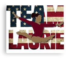 Team Laurie Hernandez - USA  Canvas Print