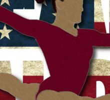 Team Laurie Hernandez - USA  Sticker