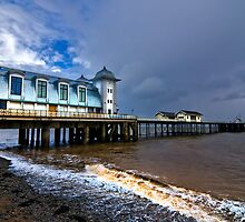Penarth Pier after the rain by Gordon Maclaren