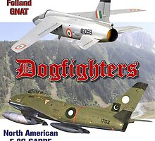 Dogfighters: F-86 vs Gnat by Mil Merchant