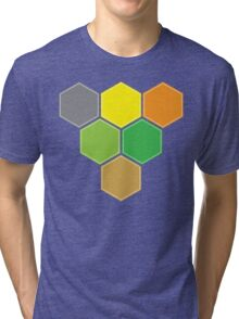 V for VICTORY (CATAN) Tri-blend T-Shirt