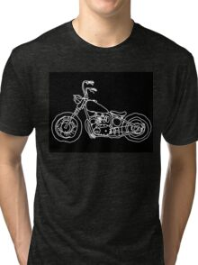Project 650 Triumph Chopper Bobber Tri-blend T-Shirt