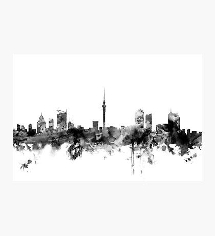 Auckland New Zealand Skyline Photographic Print