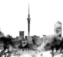 Auckland New Zealand Skyline Sticker