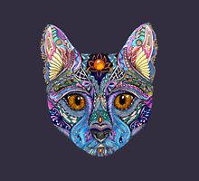 Psychedelic Cat with flair Unisex T-Shirt