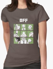 OFF - The complete crew Womens Fitted T-Shirt