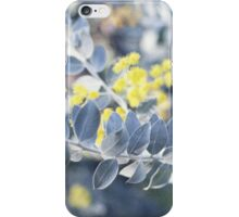winter wattle iPhone Case/Skin