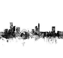 Birmingham England Skyline Photographic Print