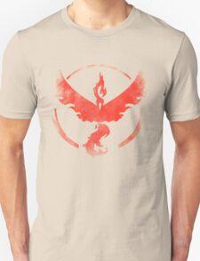 Team Valor grunge red Unisex T-Shirt
