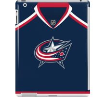 Columbus Blue Jackets Home Jersey iPad Case/Skin