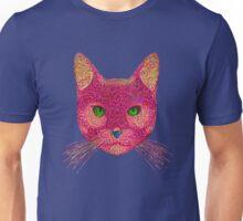 Rose Hungry Cat Unisex T-Shirt
