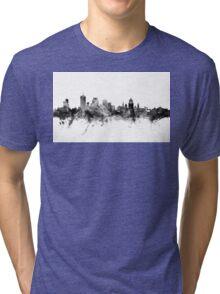 Quebec Canada Skyline Tri-blend T-Shirt