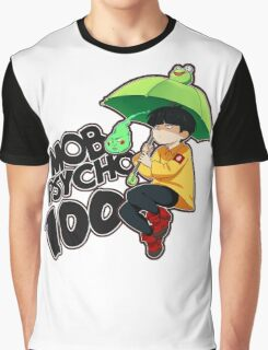Mob Psycho 100 - Umbrella Frog Graphic T-Shirt