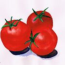 Cherry Tomatoes by Elizabeth Kendall
