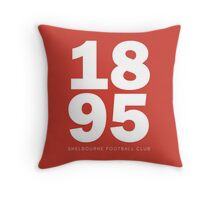 1895 - SHELBOURNE FOOTBALL CLUB  Throw Pillow