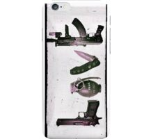 'LOVE' GUNS  iPhone Case/Skin
