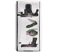 'LOVE' GUNS  Samsung Galaxy Case/Skin