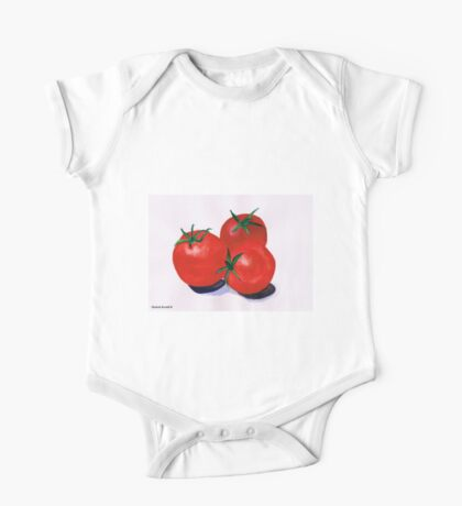 Cherry Tomatoes One Piece - Short Sleeve