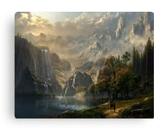 Beuatiful landscape Canvas Print
