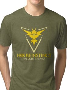 House Instinct (GOT + Pokemon GO) Tri-blend T-Shirt