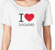 I ♥ LOCARNO Women's Relaxed Fit T-Shirt