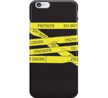 Yellow Tape iPhone Case/Skin