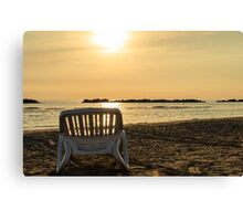 It's time to relax Canvas Print