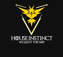 House Instinct (GOT + Pokemon GO) White vers. Unisex T-Shirt