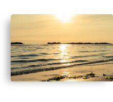 On the shining sea Canvas Print