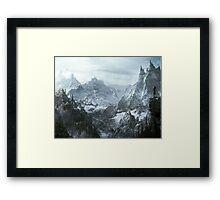Winterfell Framed Print