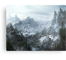 Winterfell Metal Print