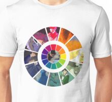 Colors Wheel Challenge Unisex T-Shirt