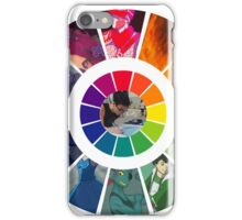 Colors Wheel Challenge iPhone Case/Skin