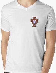 Portugal Logo Mens V-Neck T-Shirt