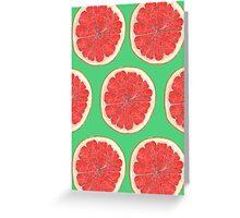Zingy Grapefruit Greeting Card
