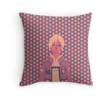 Crystal Annie Throw Pillow