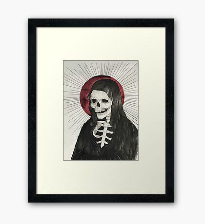 Grim Framed Print