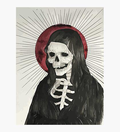 Grim Photographic Print