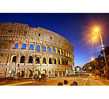 Nights at the Colosseum Photographic Print