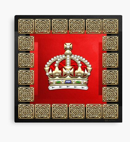 British Imperial Crown - Tudor Crown Canvas Print
