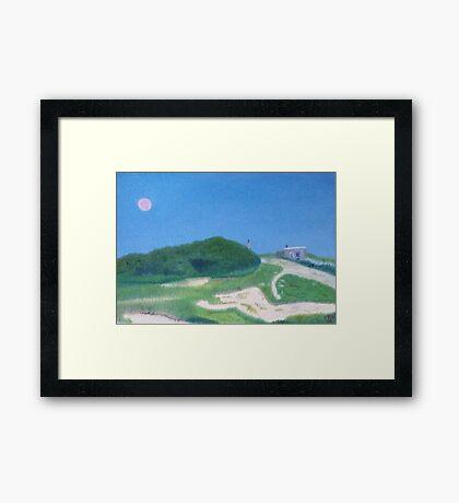 Dune Shack Framed Print