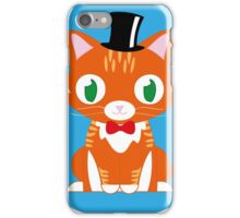 Mr Todd Vector Illustration iPhone Case/Skin