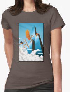 SquidZilla Womens Fitted T-Shirt