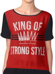 King of Strong Style Chiffon Top