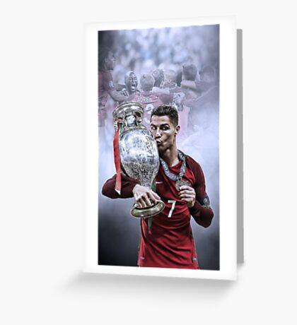 Portugal Euro 2016 Winners Greeting Card
