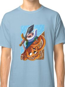 Adventure Time Jack and Finn Classic T-Shirt